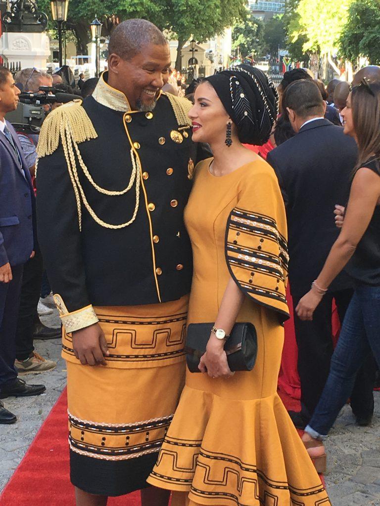 mandla mandela and wife, mandla mandela's wife, mandla mandela sona 2018, Nosekeni Rabia Mandela