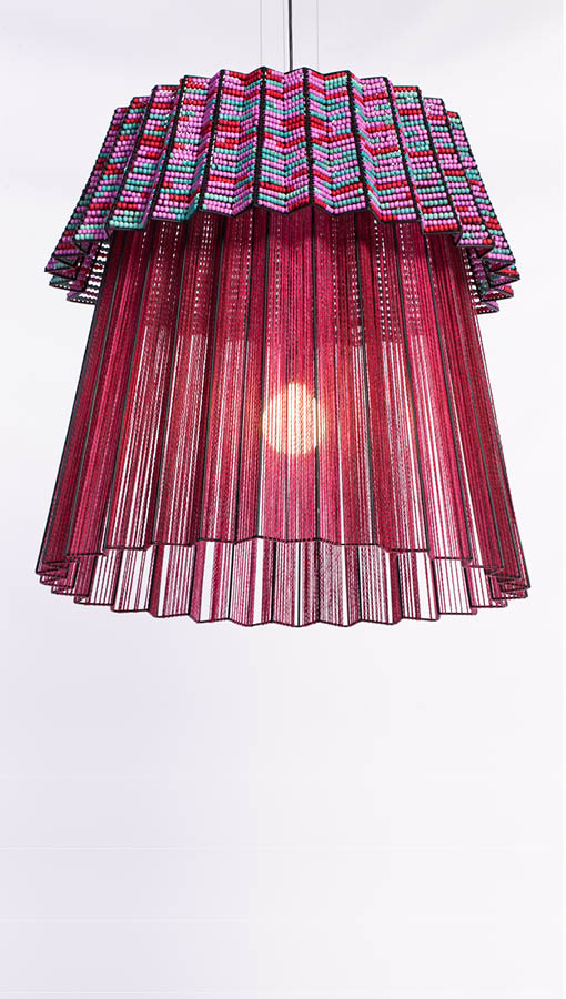 most beautiful object, design indaba most beautiful object in south africa, thabisa mjo, tutu pendant light