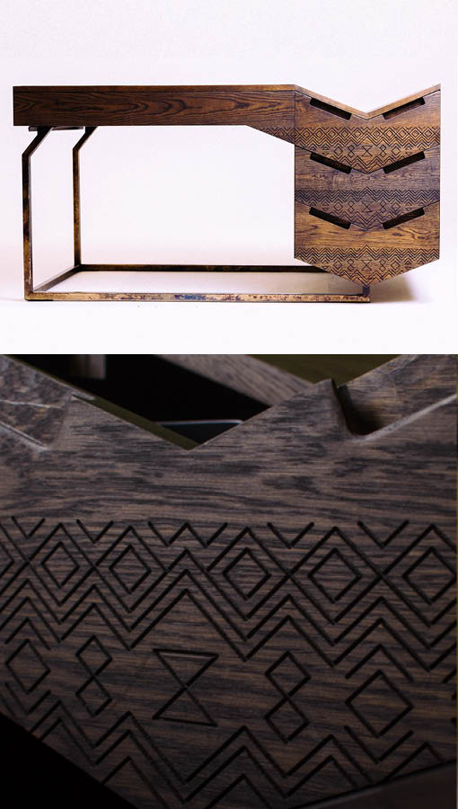 design indaba most beautiful object in south africa, mvelo desk