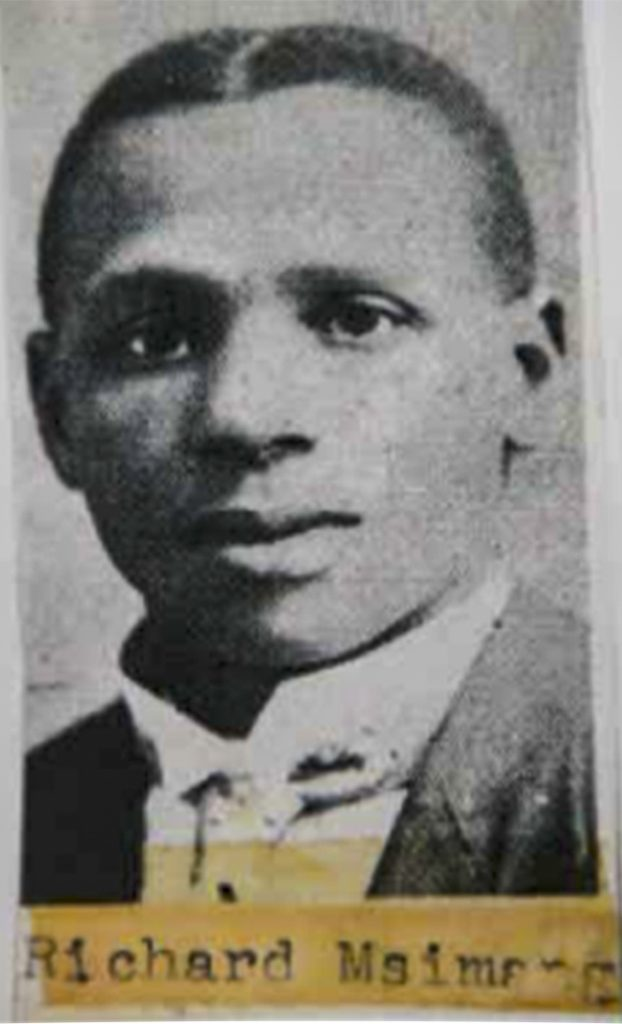 the land is ours, who is richard msimang,