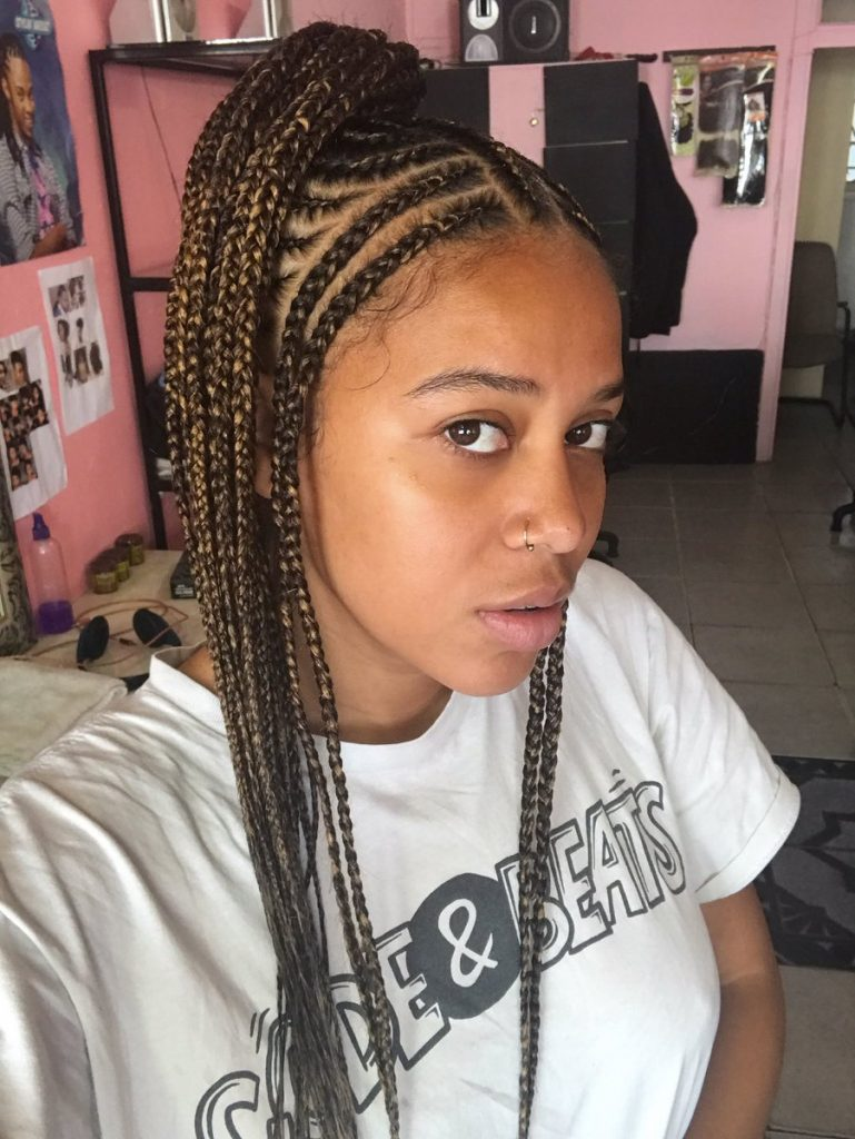 protective hairstyles for winter, sho madjozi hair