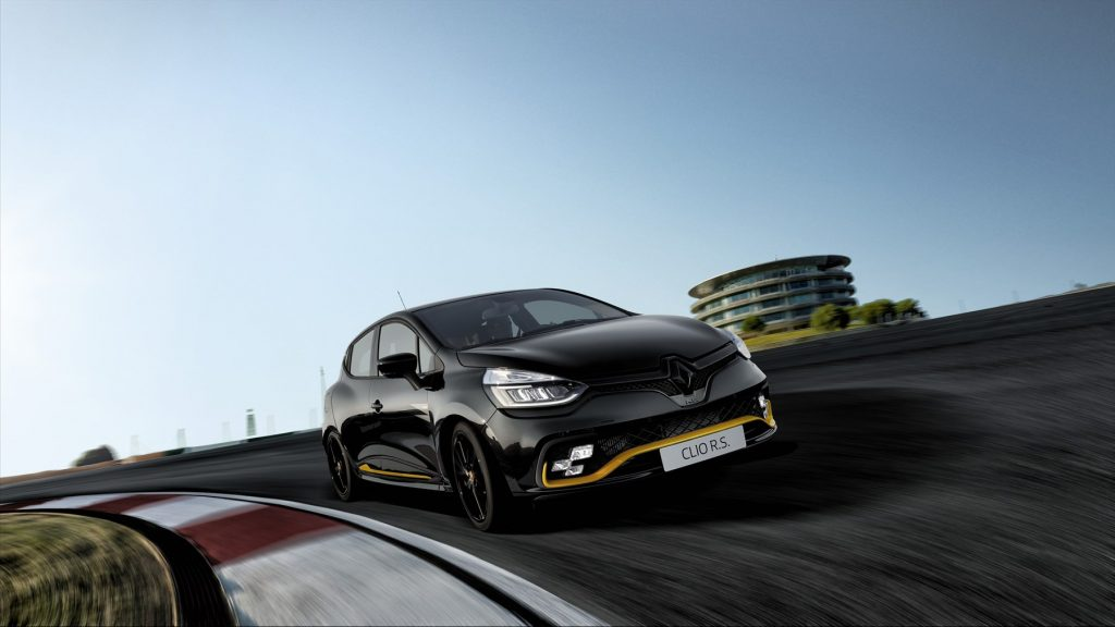 Renault South Africa,limited edition, Clio RS18, Mxolisi Mhlongo