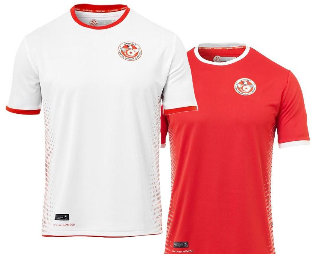 african teams world cup kits, tunisia world cup kit,