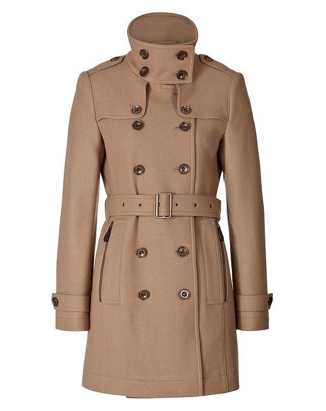 Camel coat - winter trend alert