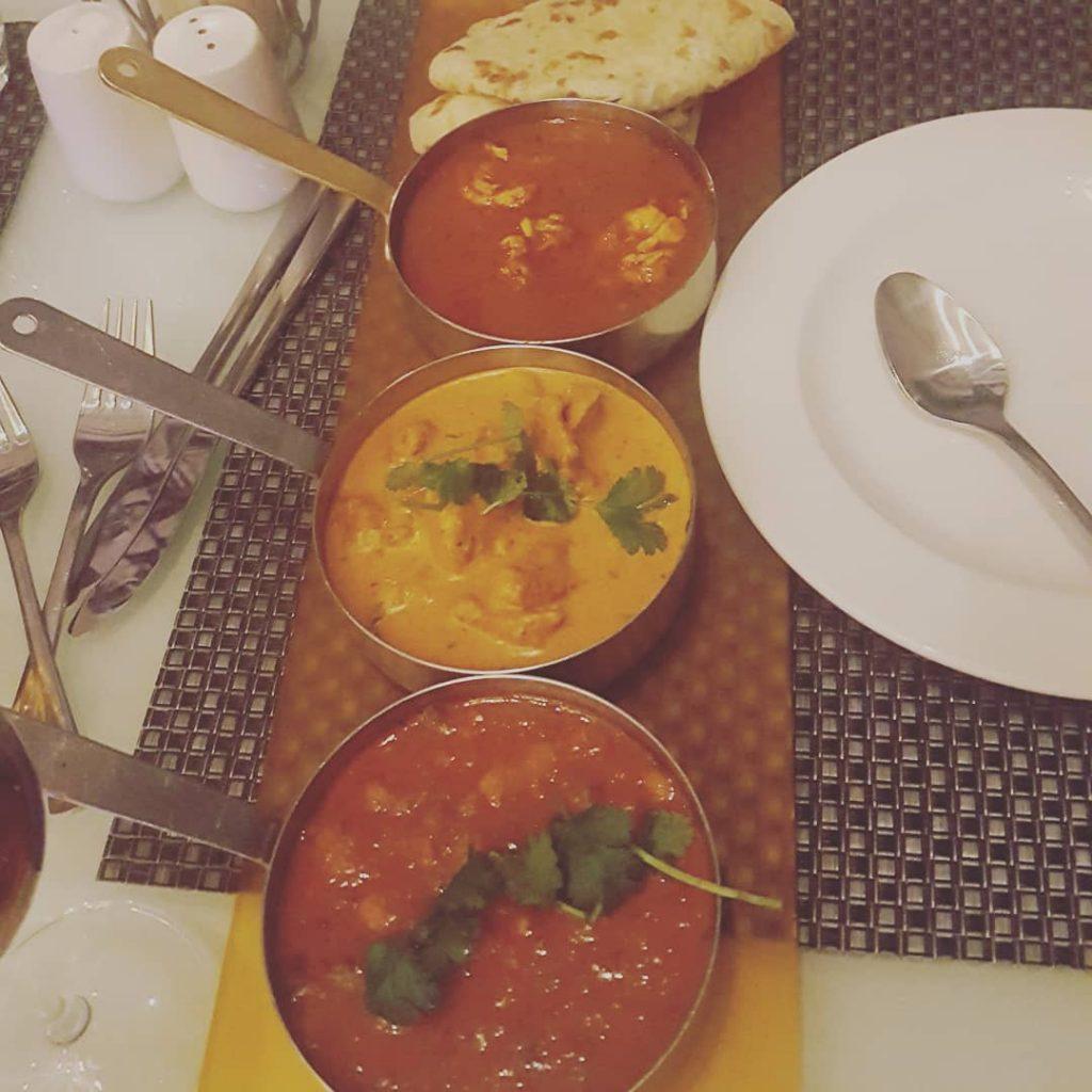 Trio of curries #DateNight