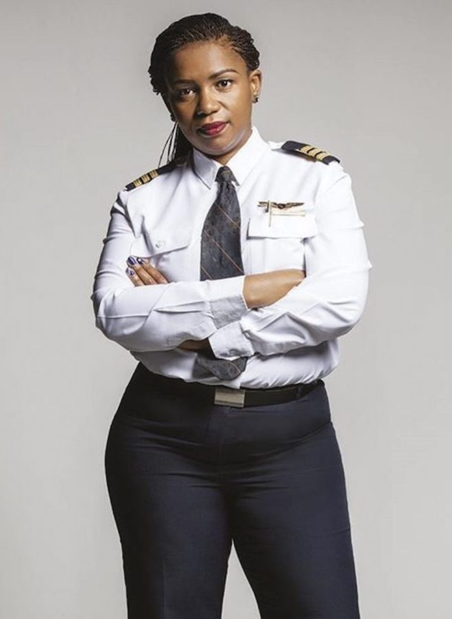 Young Gifted and Black: Asnath Mahapa, first black female commercial pilot