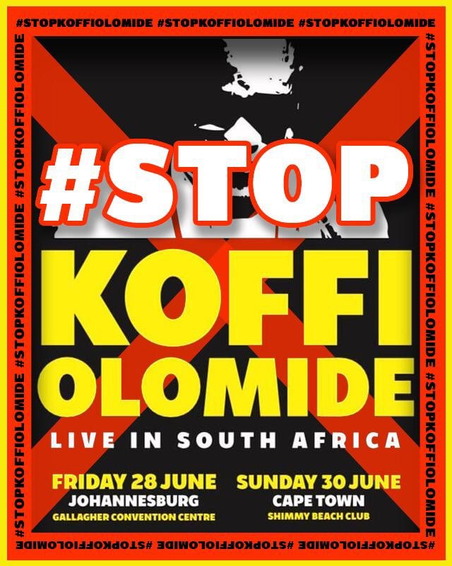 'Stop Koffi Olomide' campaign gaining steam
